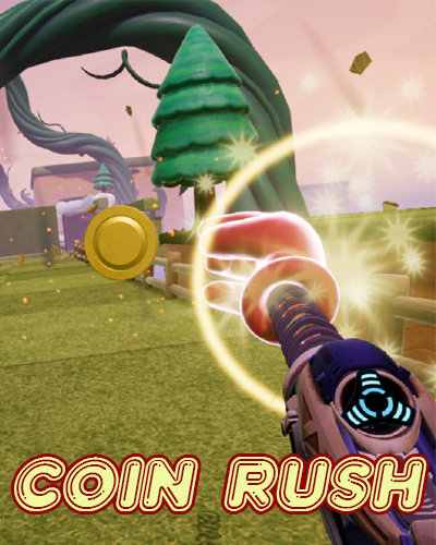 Coin Rush - Virtuix Omni - Virtual Game Rennes