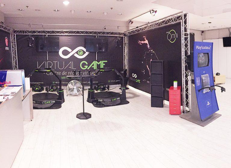 Salle Carrefour Cesson Sévigné - Virtual Game Rennes - Salle de réalité virtuelle