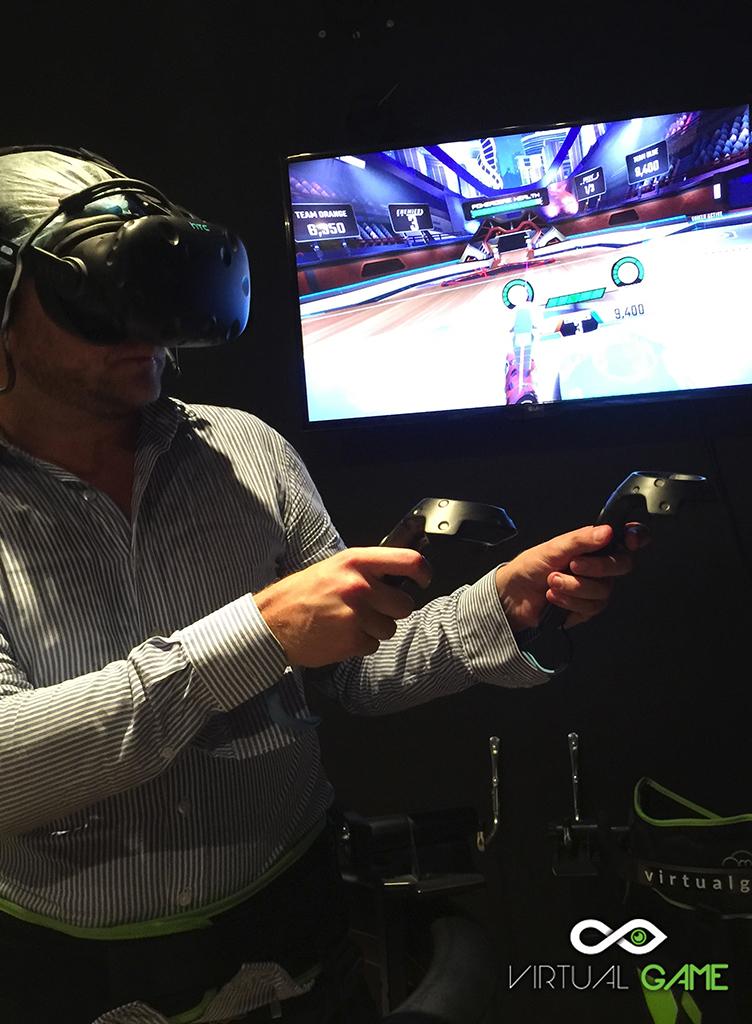 Virtual Game Rennes - Salle de réalité virtuelle