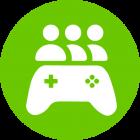 Icone Multijoueur - Virtual Game Rennes - Salle de réalité virtuelle